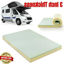 Memory Foam Mattress Topper Camping Pad Short Queen Size For