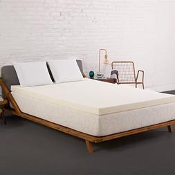 Authentic Comfort 4-inch Breathable Memory Foam Mattress Top