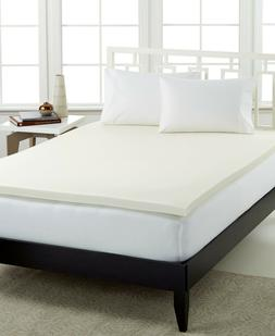 """Sealy FULL 2"""" Memory Foam Mattress Topper with Quilted Cover"""