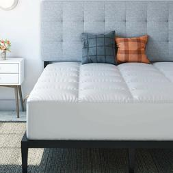 Microfiber Matress Pad Goose Down Alternative Pillowtop Quil