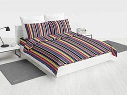Modern Decor Girls Bedding Sets Queen Colorful Geometric Str