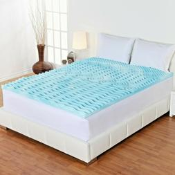 NEW!!! 2-Inch Orthopedic 5-Zone Foam Mattress Topper