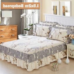 New Luxury Bed spread bedspread King Queen <font><b>size</b>