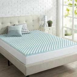 Jacia  House 11.4 Inch Pillow Top Memory Foam Innerspring In