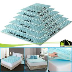 6 Sizes Orthopedic Mattress Topper Bed Pad 5-Zone Authentic