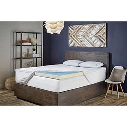 Sealy Perfect Chill 3-inch Memory Foam Mattress Topper Twin