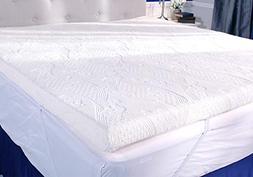 pillow three inch mattress bed