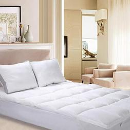 Utopia Bedding Polyester Mattress Topper  – Pad Cover...