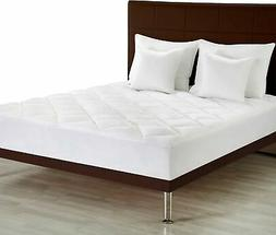 premium mattress pad twin xl quilted fitted
