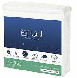 Queen Size Luna Premium Hypoallergenic 100% Waterproof Mattr