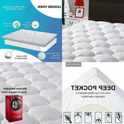 LEISURE TOWN Queen Mattress Pad Cover Cooling Topper Queen,