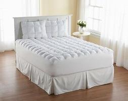New Queen Size Mattress Topper Pillow Top Bed Cover Comforte
