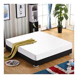 "New Queen Size 10"" Memory Foam Mattress Pad Bed Topper 2 Fre"