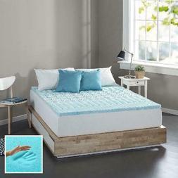 Queen Size Fusion Gel Memory Foam Mattress Firm Pad Bed Topp