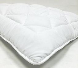 Bed-in-a-Bag King Waterbed - Down Alternative Mattress Pad/T