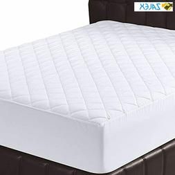 Utopia Bedding Quilted Fitted Mattress Topper Pad Queen Size