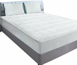 Utopia Bedding Quilted Fitted Fleece Mattress Pad  - Mattres