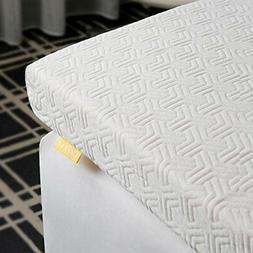 UTTU 3-Inch Red Respira Memory Foam Mattress Topper 2 Layer