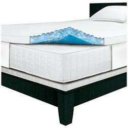Serta Rest - Queen - 3 Inch Gel Memory Foam Mattress Topper