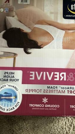 Serta rest & revive™ 3-inch LURAcor™ Foam Back Support M