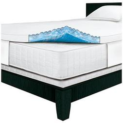 Serta Rest - Full - 4 Inch - Cushioned Plush Gel Memory Foam