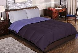 Superior Reversible Down Alternative Comforter, Medium Weigh