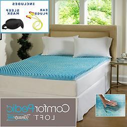 Beautyrest 3-inch Sculpted Gel Memory Foam Mattress Topper S