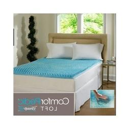 Beautyrest 3-inch Sculpted Gel Memory Foam Mattress Topper Q