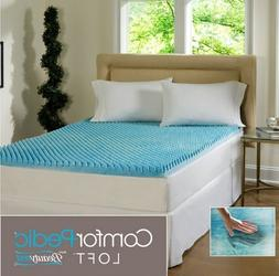 Beautyrest 3-inch Sculpted Gel Memory Foam Twin Mattress Top
