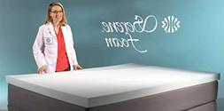 Serene Foam King Size 2 Inch Thick, Advanced Supportive Air