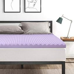 Best Price Mattress Full 3 Inch Egg Crate Memory Foam Bed To
