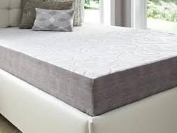 "Simmons Curv 8"" Gel Memory Foam Mattress with Luxurious Wove"