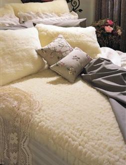 SnugSoft Wool Mattress Cover - Elite 1 1/2 inch pile - King