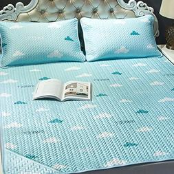 AMYDREAMSTORE Summer ice silk sleeping cool mattress tencel
