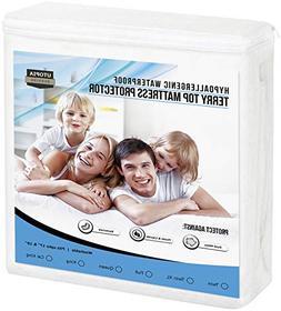 Mattress Protector Queen Size Cover Bed Waterproof Bug Dust