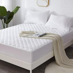 Top Mattress Queen Size Topper Cover Pad Quilted Pillow Bed