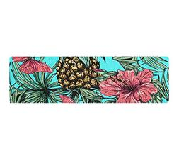 KYWYN Tropical Hawaii Pineapple 3D Cooling Towels Neck Wrap,