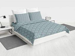 iPrint Duvet Cover 4 Set - Turquoise,Gifts for Family/Friend