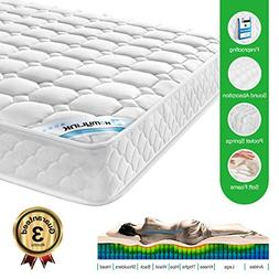 HomyLink Twin Mattress 3D Breathable Knitting Fabric Pocket