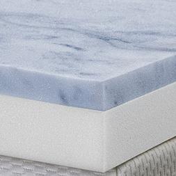 Serenia Sleep 3-Inch Two Layer Topper Gel Memory Foam Made i