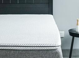 Allrange 2-Inch Ultra Soft Cooling gel Memory Foam Mattress