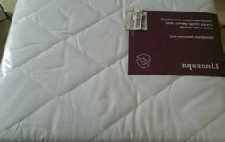 Ultra Soft Microfiber Cover Mattress Pad Hypoallergenic Bed