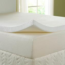 "Nature's Sleep 3"" Visco Memory Foam Topper with Free Cover"
