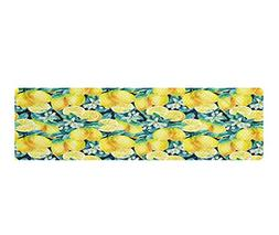POP MKYTH Watercolor Lemon Fruit 3D Cooling Towels Neck Wrap