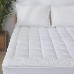 waterproof mattress pad cover quilted fitted topper