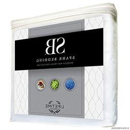 Spahr Bedding Waterproof Mattress Protector - Smooth Hypoall