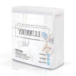 eLuxurySupply Premium Waterproof Mattress Protector - Mattre
