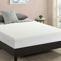 "Best Price Mattress XL, 2.5"" Memory Foam Mattress Topper wit"