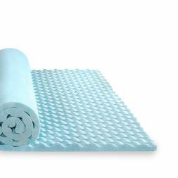 """Zinus 1.5"""" Inch Gel Memory Foam Mattress Topper, Full"""